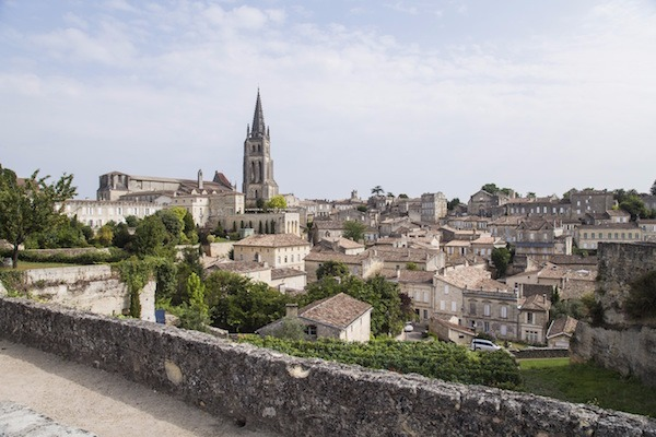 St Emilion and La Rochelle