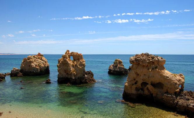 Praia Gale - Albufeira, Portugal