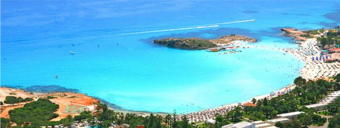 Nissi Bay Beach, Ayia Napa, Cyprus