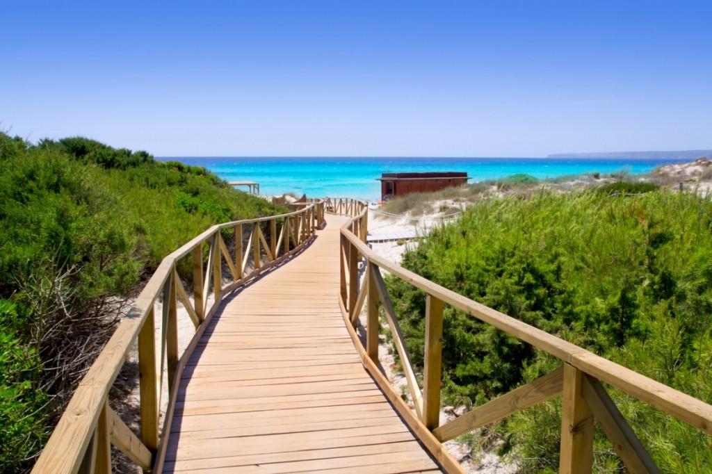 Playa de Migjorn, Formentera