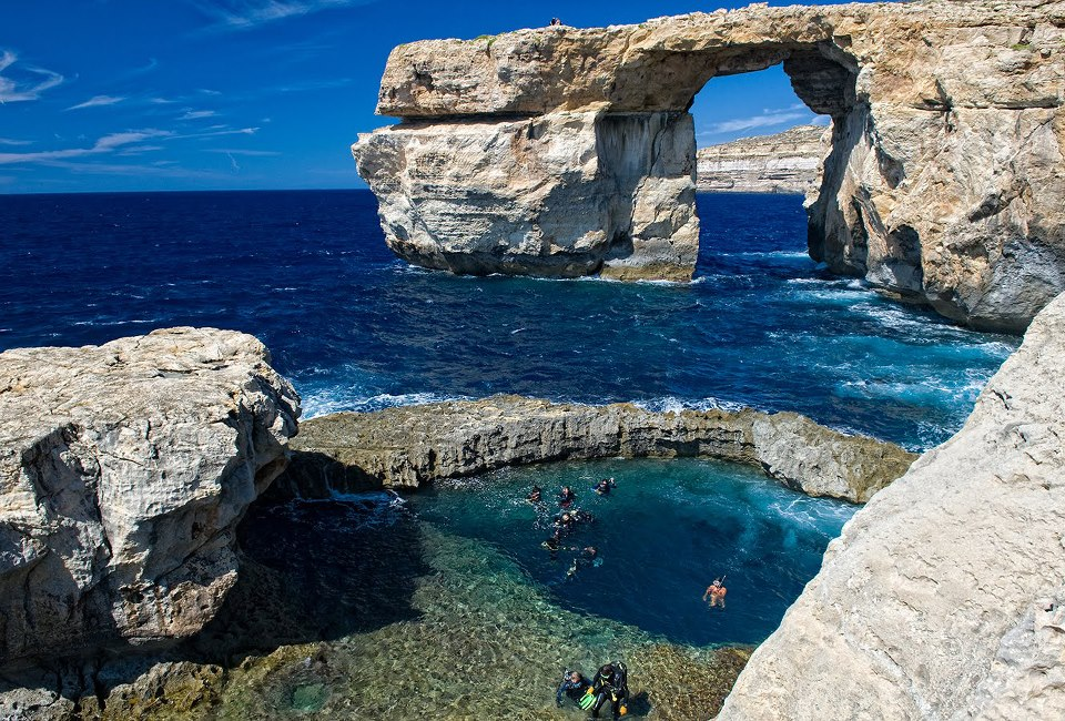 THE BLUE HOLE & AZURE WINDOW, GOZO
