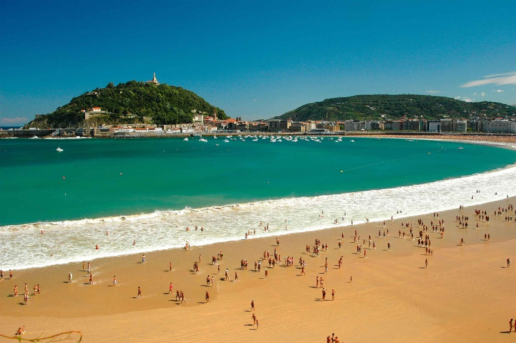 The Concha, San Sebastian - Spain