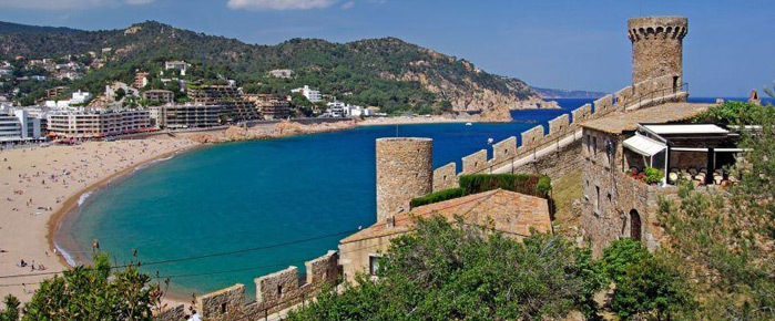 Tossa de mar, Costa Brava - Spain