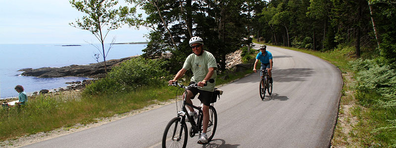 Biking the Coast of Maine