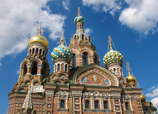 Church of the Savior on Spilled Blood St. Petersburg, Russia