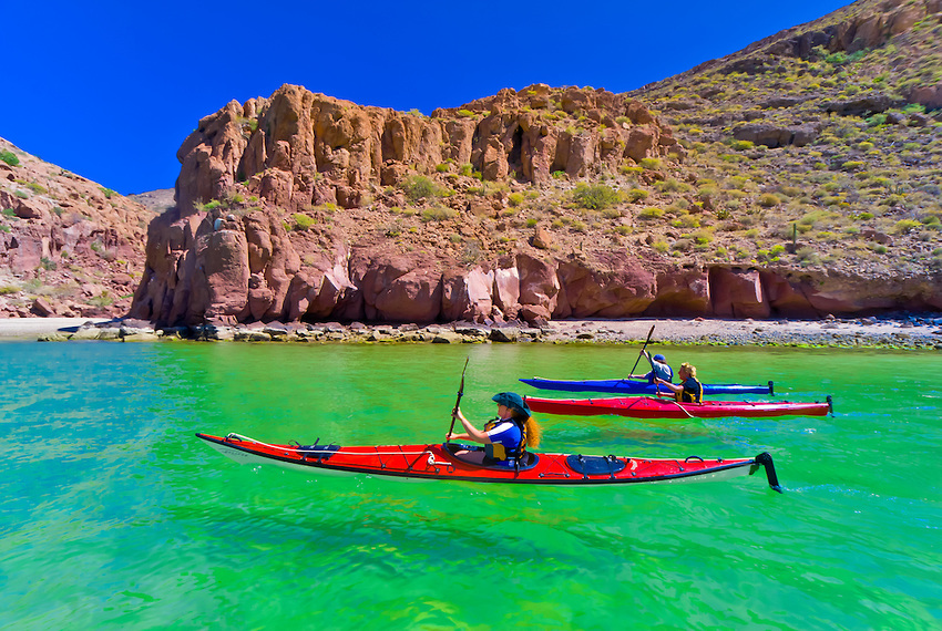 Kayaking Mexico's Sea of Cortez
