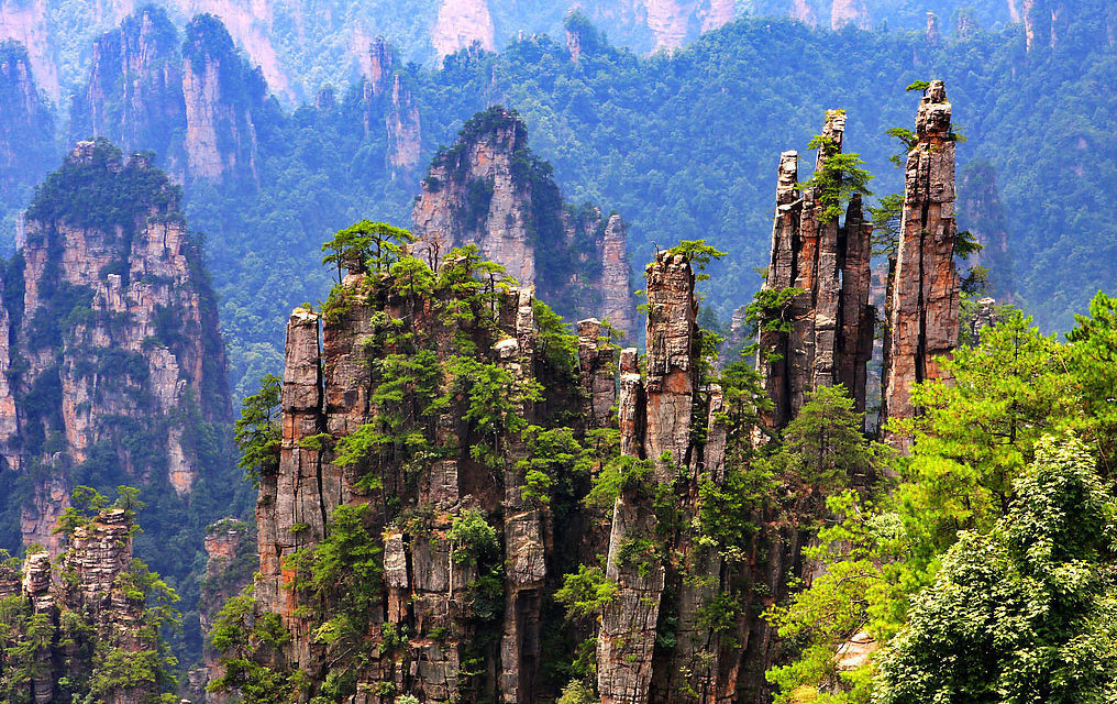 Tianzi Mountains — China