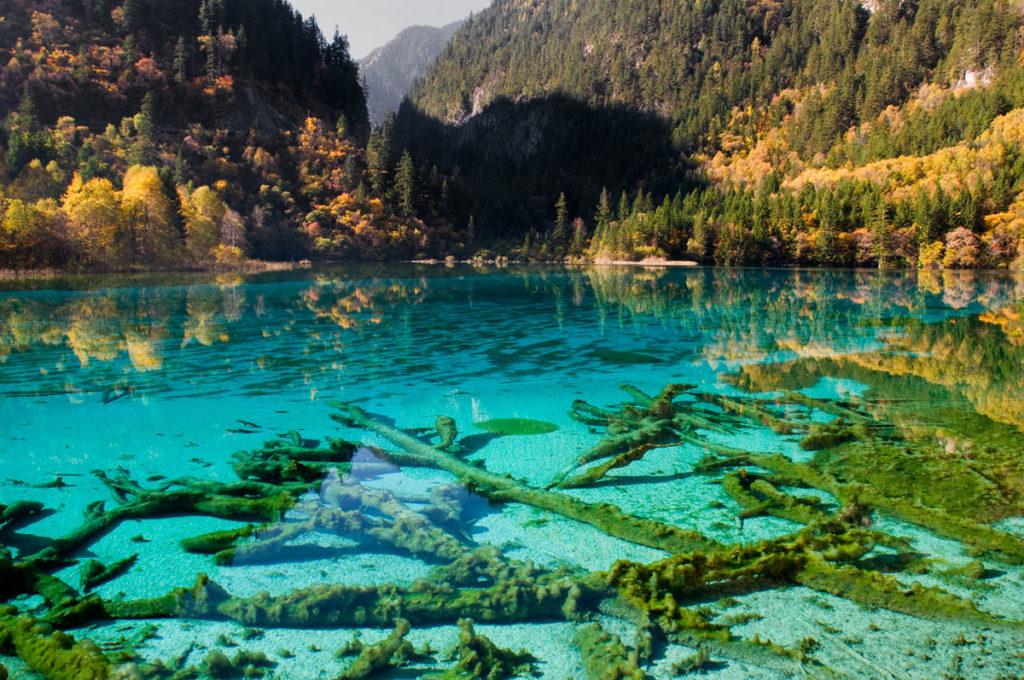 Λίμνη των 5 λουλουδιών, Κίνα